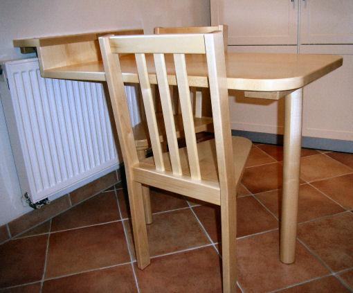 beistelltische tisch arbeitstisch stehtisch tresen altholz ... - Kleiner Tisch Küche